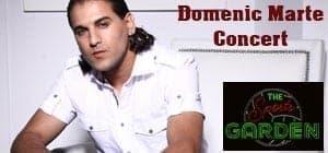 Domenic Marte Concert