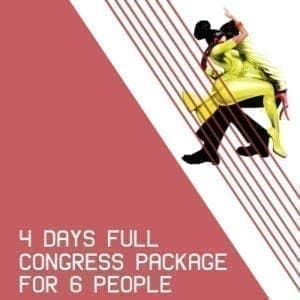 4 Day Pass - 6 People