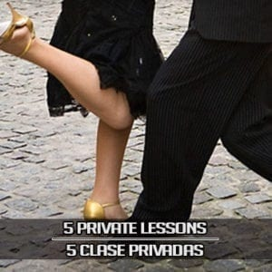 5 Private Lesson